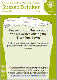 Sussex Drinker - Spring 2021