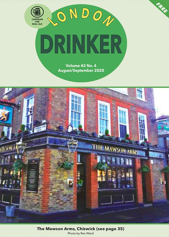 London Drinker August - September 2020