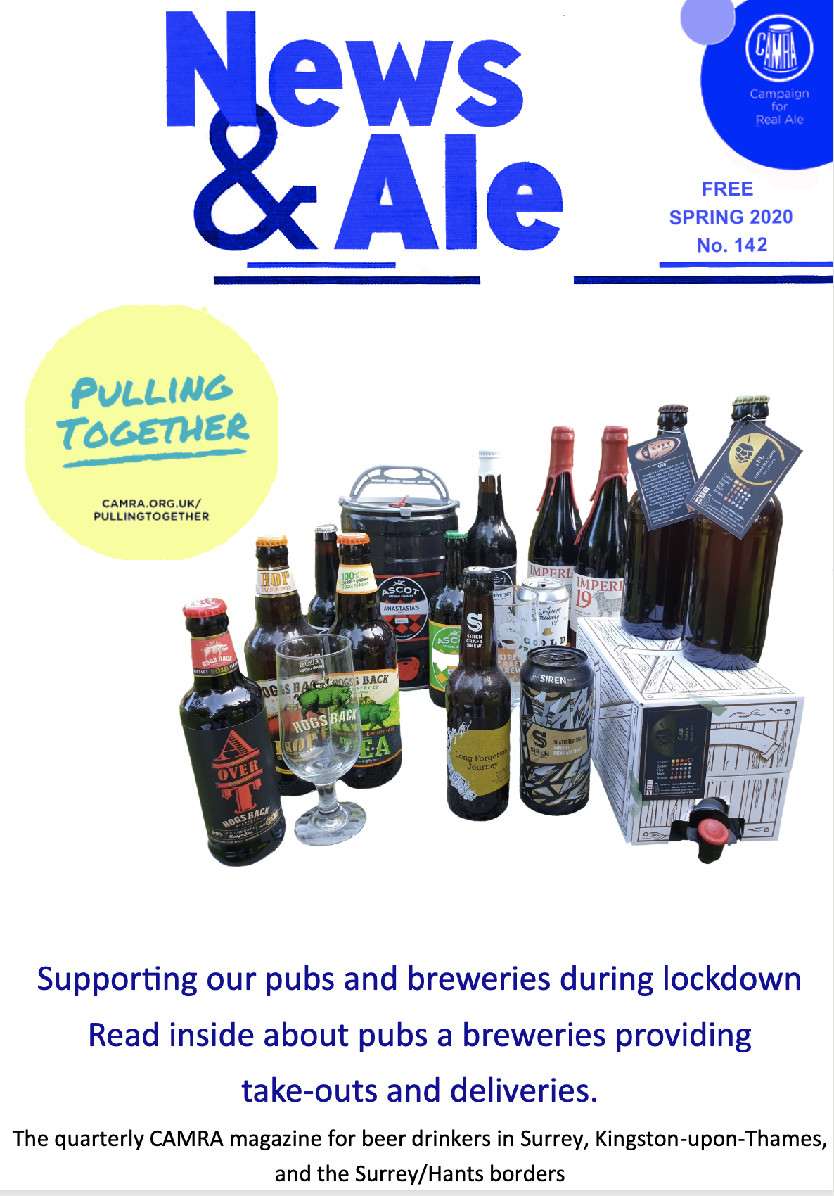 News & Ale (Surrey Hants Borders) Spring 2020
